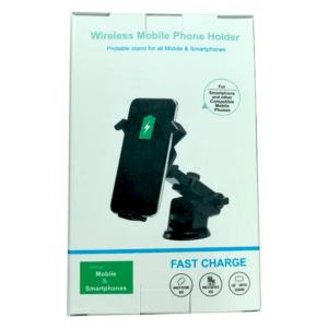 wireless mobile phone holder